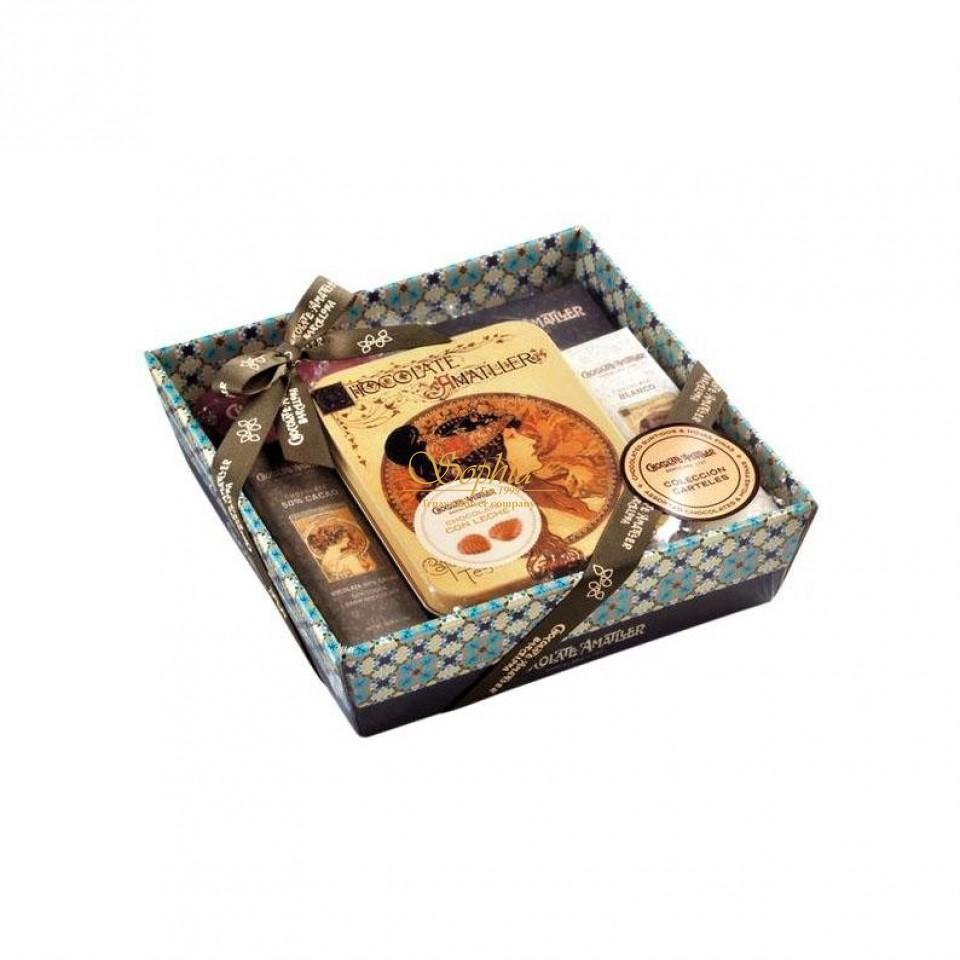Amatller - Darčekový set zo 5 druhov čokolády (266g)
