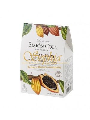Simón Coll Kakaové bôby v 70% horkej čokoláde 100g