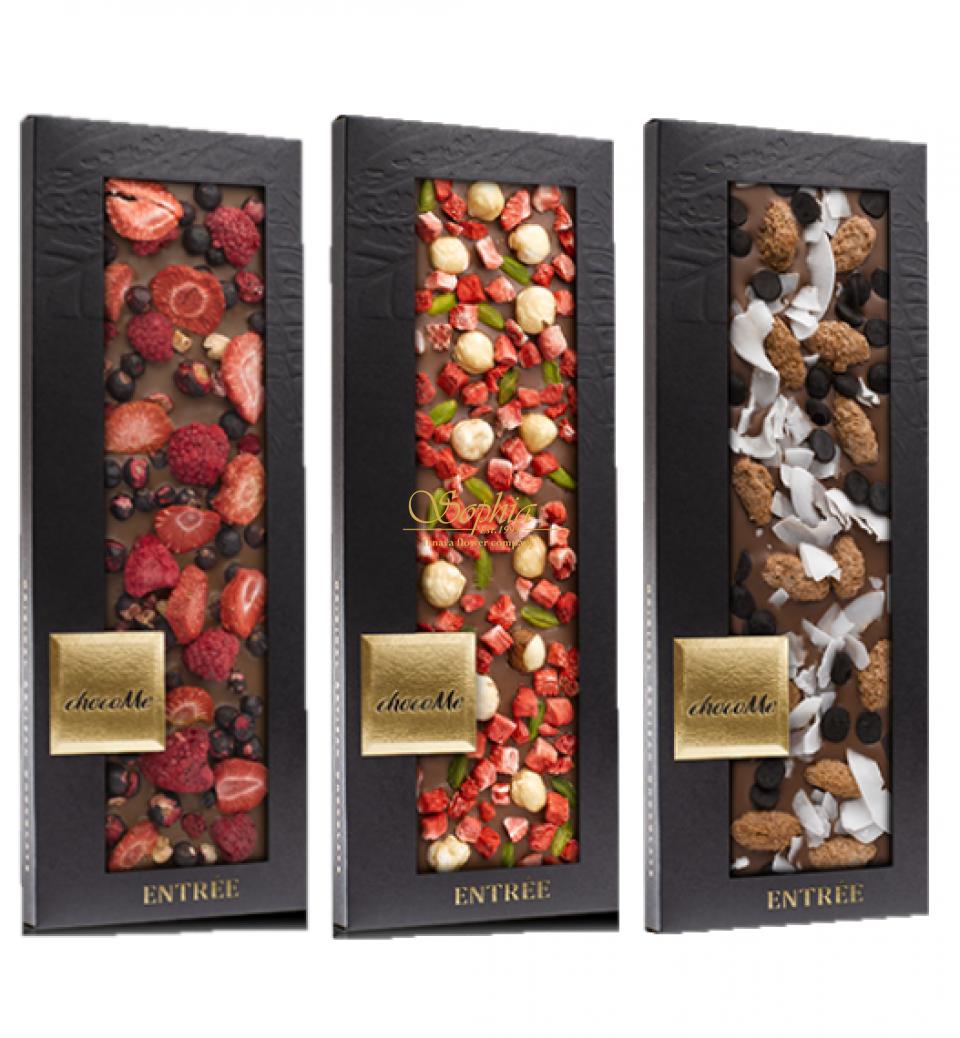 CHOCOME 41% Mliečna čokoláda Entreé 110g