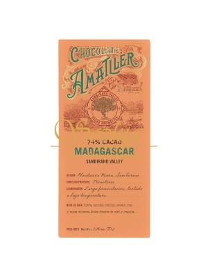 Amatller - Madagaskar 74% plantážna čokoláda