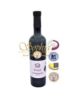 PEREG - Víno z čiernych ríbezlí